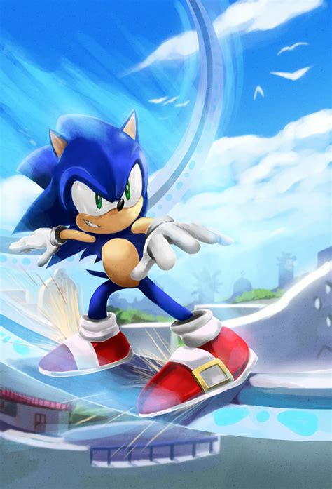 sonic unleashed fan game sonic unleashed in apotos by mazjojo on deviantart