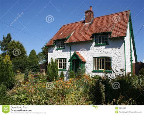 english cottage stock image image of beautiful front