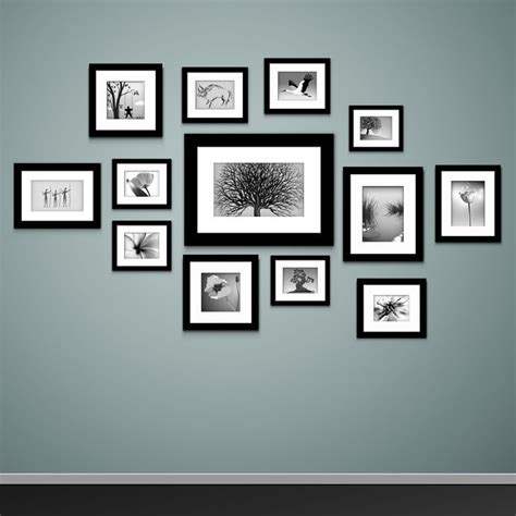 how to hang photo frames on wall without nails how to mount photo frames on the wall ebay