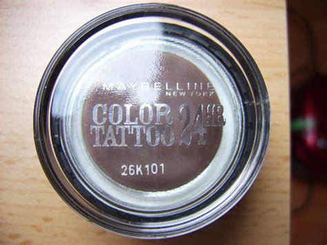 tattoo ointment inhaltsstoffe test eyeshadow maybelline eyestudio color tattoo 24hr
