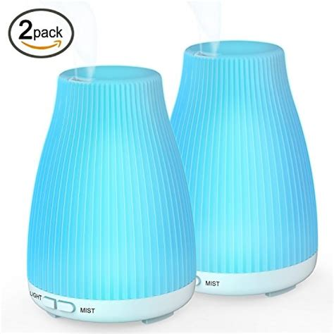 H05 Essential Aroma Humidifier 7 Colors Mood Light Led L 400ml essential ultrasonic aroma diffuser baxia technology 100ml cool mist humidifier with 8