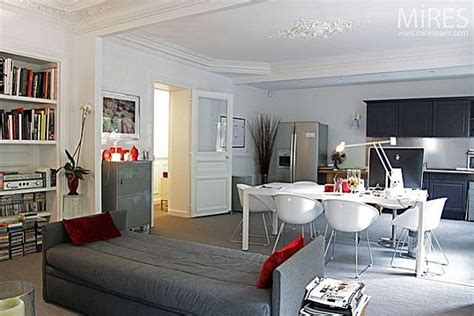 is livingroom one word another type of parisian apartment