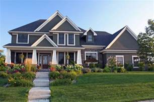 craftsman home plan craftsman style house plan 4 beds 3 5 baths 3313 sq ft