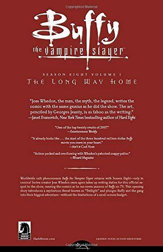 libro the long way home libro buffy the vire slayer the long way home di joss whedon