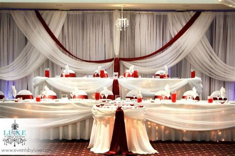 17 best images about Burgundy and White Wedding Decor on