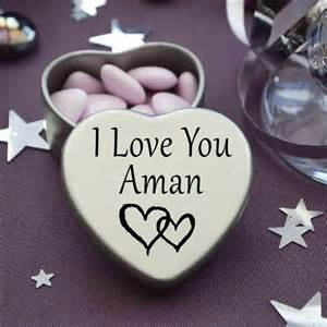 Wedding Gift Packing I Love You Aman Mini Heart Tin Gift For I Heart Aman With Chocolates Or Mints Ebay