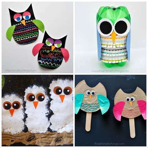 kid crafts for 8 owl crafts for i crafty things