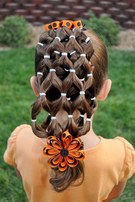 halloween themed hairstyles princess piggies halloween hairdos the haunted house