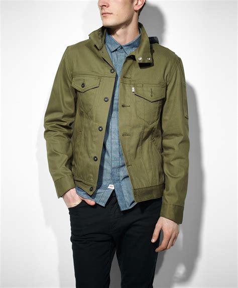 Blazer Levis levi s commuter hooded trucker jacket slim fit truckers i want it fashion