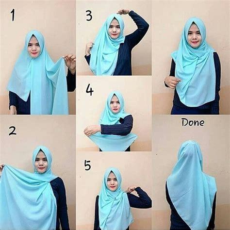 tutorial hijab segi empat untuk idul fitri tutorial hijab simple untuk lebaran 1000 images about