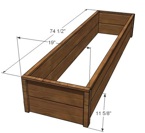 raised bed plans ana white 10 cedar raised garden beds diy projects