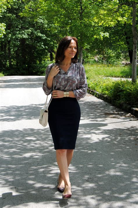 Ranse Mini Big Polka by The Most Comfortable Pencil Skirt Of Style