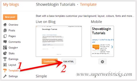 blogger delete blog how to hide or remove powered by blogger attribution gadget