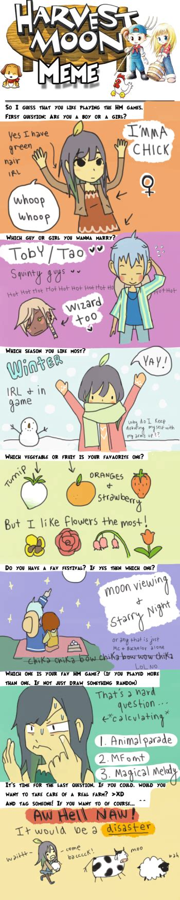 Harvest Moon Meme - harvestmoonmeme explore harvestmoonmeme on deviantart