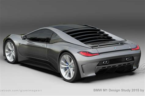 bmw supercar m1 modern day bmw m1 imagined gtspirit