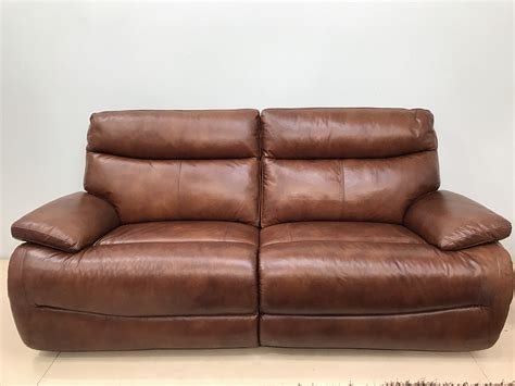 Reclining Sofa Brands by Mizzoni Italia High Grade Leather Reclining Luxury Sofa