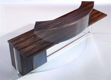 Mirrored Reception Desk wood furniture biz products o kitalia mirror