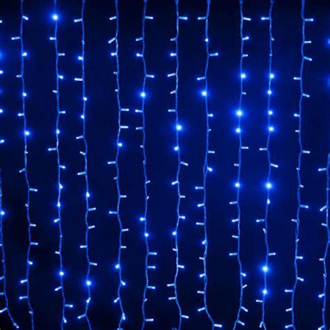 Rideaux Lumineux Noel by Achat Rideau Lumineux De Noel 180 Led Bleu Clignotant