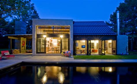 Hybrid Timber Frame Floor Plans A Hybrid Of Modern And Traditional Architecture Design Milk