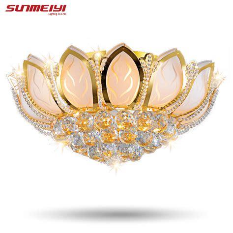 aliexpress com buy lotus flower modern ceiling light
