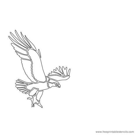 printable eagle stencils printable bird stencils parrots eagles heron pelican