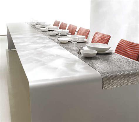 modern dining table decor modern dining table decorating idea by mdf italia