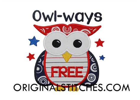 free owl pattern new calendar template site owl ways free machine embroidery and applique designs