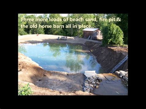 how to turn your backyard into a beach 2 building your own private beach swimming pond 7 2012