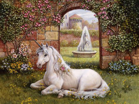imagenes de criaturas mitologicas para fondo de pantalla bello unicornio en jard 237 n imagenes y carteles
