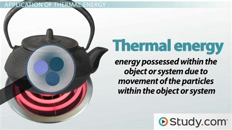 heat thermal what is thermal energy definition exles