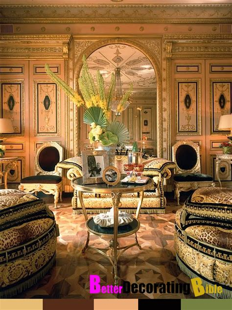 Home Furniture Decoration celebrity home inside donatella versace s apartment