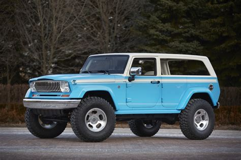jeep prototype truck awesome jeep chief concept leads six others to moab easter