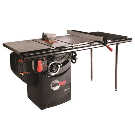 sawstop professional cabinet saw 1 75 hp 1 75 hp professional cabinet saw with 36 quot professional t