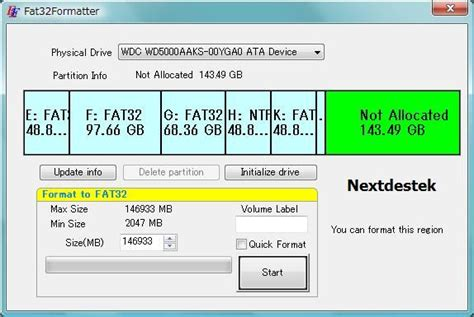 the best reliable fat32 formatter for windows next 2000 usb super plus harici hard disk kullanma fat 32