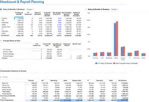 workforce plan template exle workforce planning solution from anaplan