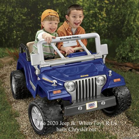 toys r us jeep the 2020 jeep jk when toys r us bails chrysler out
