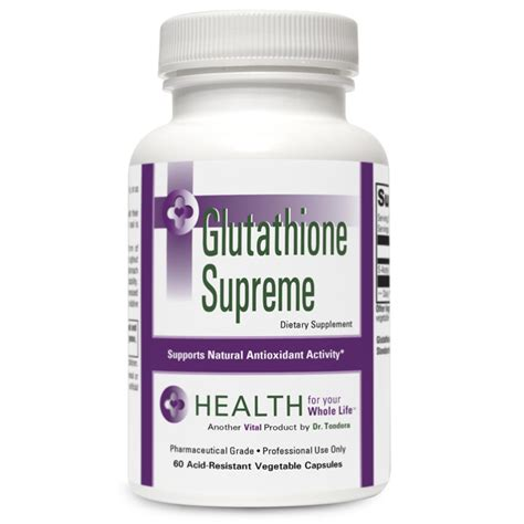 Glutathione Results For Platinum Detox by Glutathione Supreme Health For Your Whole Lifehealth For