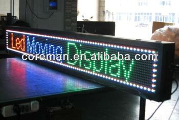 alibaba express led tv outdoor color p10 led sign