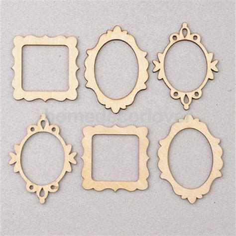 craft picture frames for aliexpress buy 10 packs of 3 unfinished wooden frame
