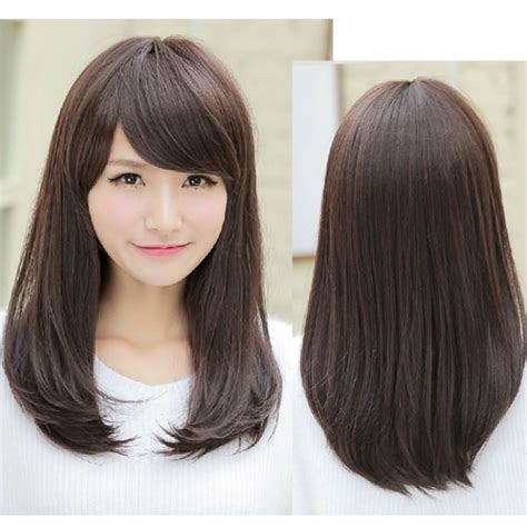 Korean Medium Hairstyles by Asian Medium Length Hairstyles Fade Haircut
