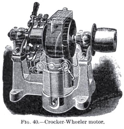 crocker motors crocker wheeler electric co history vintagemachinery org