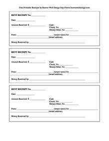 printable rent receipt template free rent receipt template and what information to include