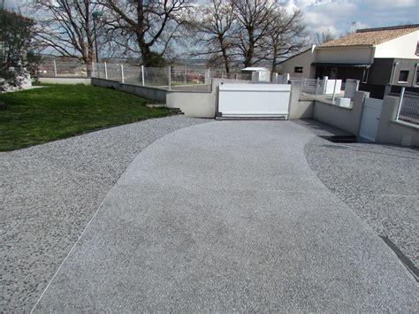 beton allee garage projet l all 233 e de garage noir et blanche en b 233 ton