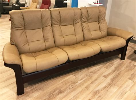 Stressless Buckingham Sofa by Stressless Buckingham 3 Seat High Back Sofa