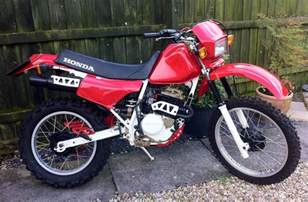 honda xl250 1980s trail bike enduro 163 1 995 00