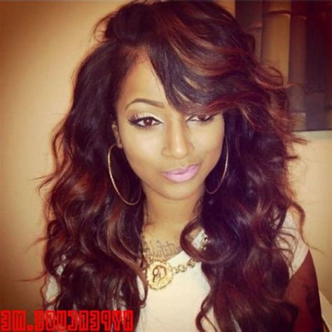 Wavy Black Hairstyles by Wavy Weave Black Hairstyles Hairstyles By Unixcode