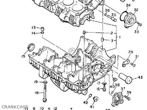 1982 yamaha maxim 650 carburetor schematic 1982 yamaha