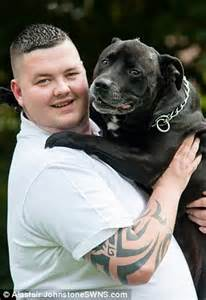 suicidal man says his life was saved by pet mastiff that