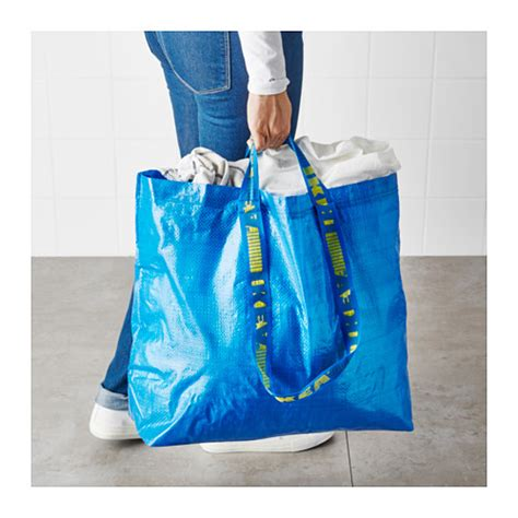 frakta shopping bag ikea frakta medium shopping grocery laundry storage tote eco bags ebay