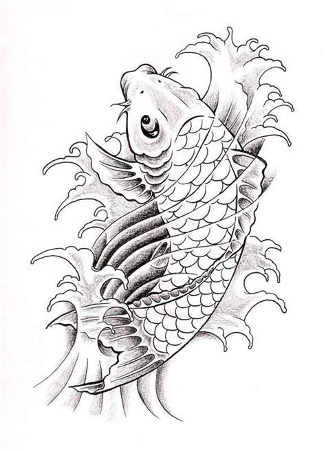 koi fish tattoo sketch koi fish drawing best tattoo design jpg 578 215 800 koi